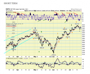 The ELLIOTT WAVES lives on: S&P 500 Weekend Report del 21 luglio 2019.