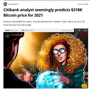 Novembre è il mese del Bitcoin