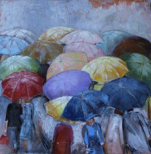 Sotto la pioggia di Bibì